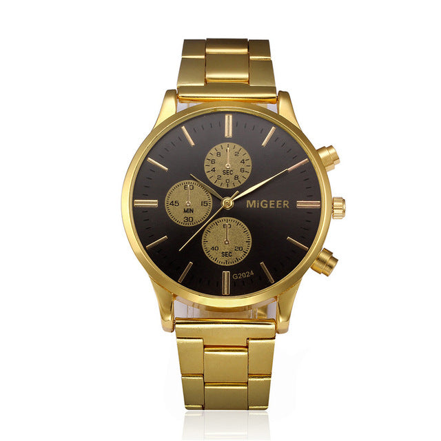 """MiGeer Timepeice"" Classic Watch"