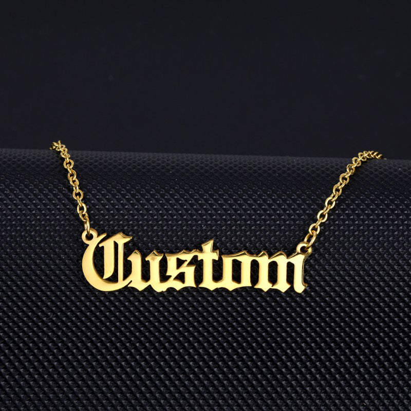 Custom Name Pendant