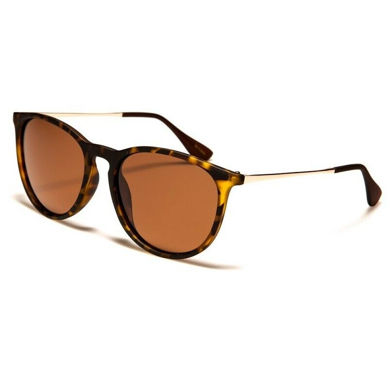 Polarized Sunglasses Mens / Womens -Round Retro / Vintage Frame - Polarised Lens
