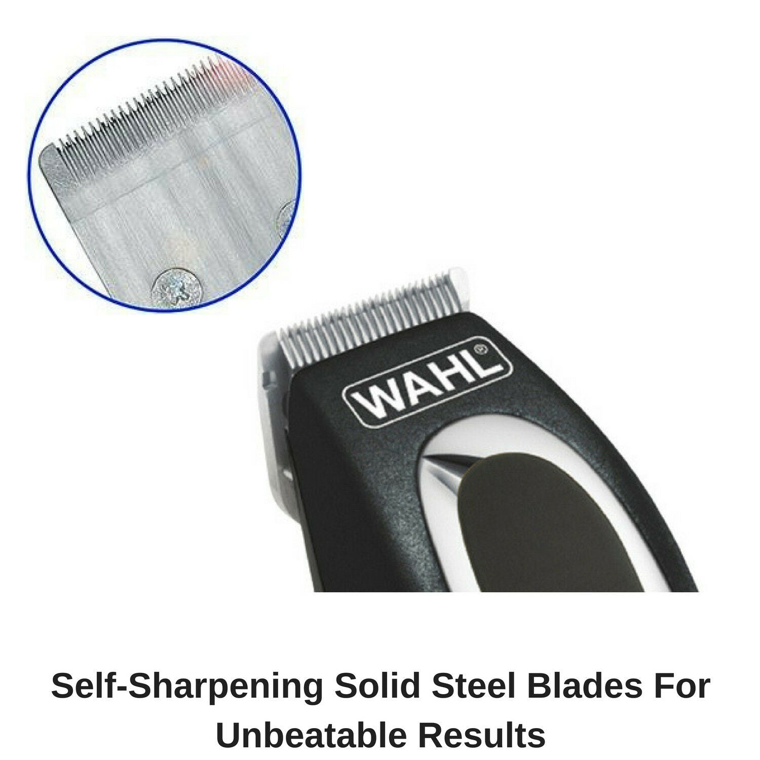 Wahl Beard Body Hair Trimmer Electric Cordless Rechargeable Grooming Kit Mens