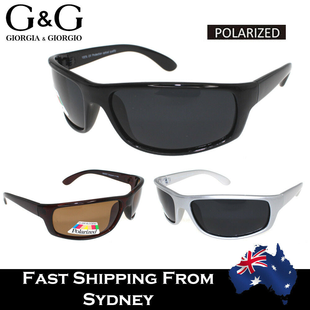 Men Polarized Sports Sunglasses Running Cycling Wrap Around Fishing Driving