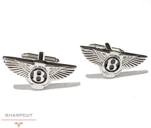 Bentley Car Logo Unique Cufflinks incl Gift Pouch Quality Fashion Cufflink