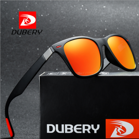 Men Sport Polarised Sunglasses Outdoor Square Glasses New