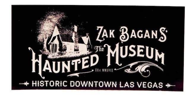 The Haunted Museum Bumper Sticker