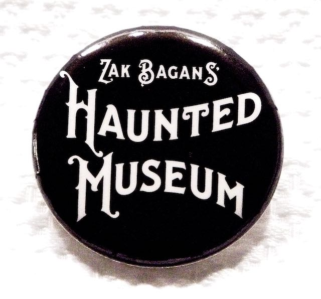 The Haunted Museum Button