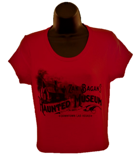 Haunted Museum Women's T-Shirt - Red