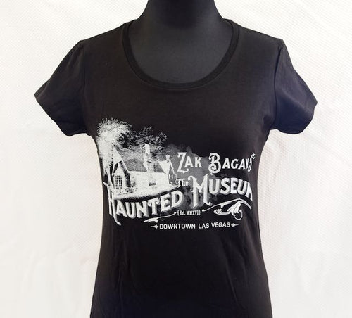 Haunted Museum Women's T-shirt - Black