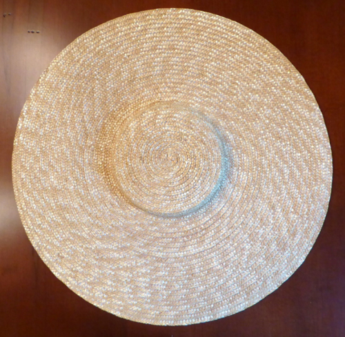 Low Crown Straw Hat Blank