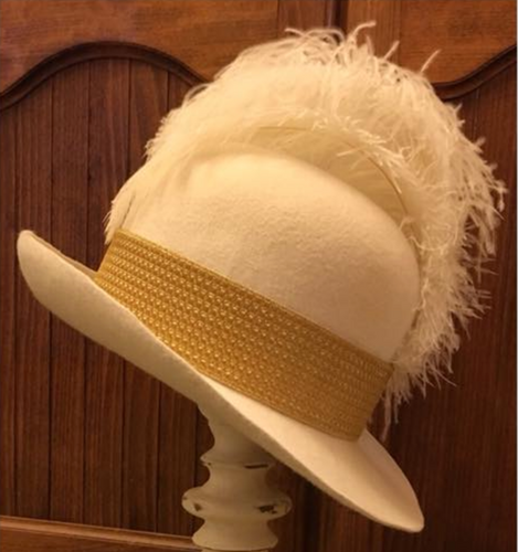 1770s Ladies Riding Hat