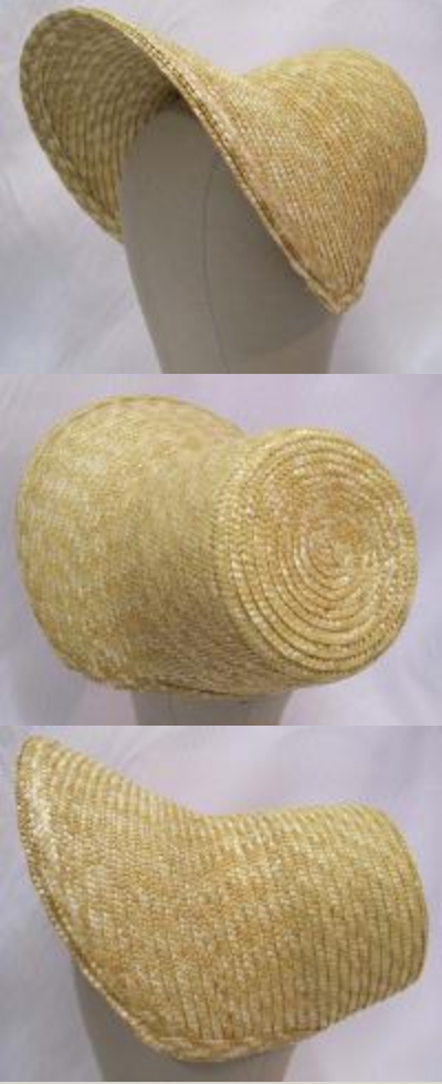 Regency Poke Bonnet - plain