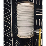 "1/4"" Quarter Inch 6MM Wide Flat Elastic, Choose White or Black, 140 Yards - Perfect for Face Masks & Other Crafts"