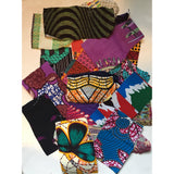 Small Scrap Pieces - African Print Fabric