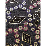 African Print Fabric/ Ankara - Purple, Pink, Brown, Shimmering Gold 'Once Upon A Time' Design, YARD or WHOLESALE