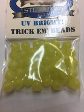 Great Lakes Steelhead co 6mm UV BRIGHT Trick Em' Beads