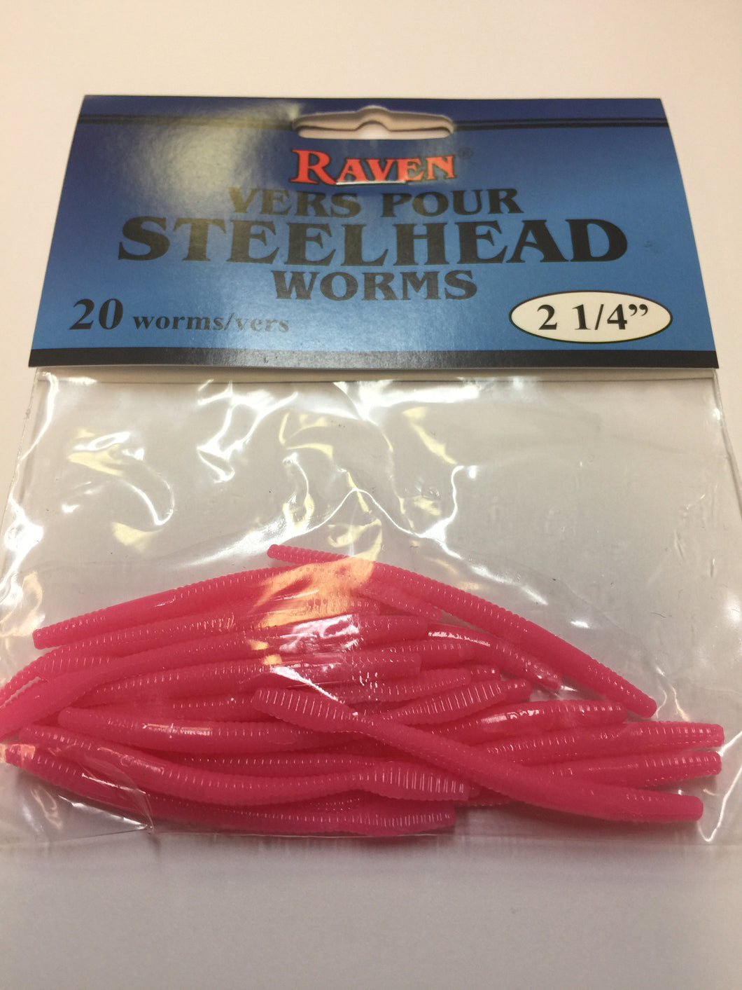 Raven steelhead worms