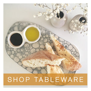 ceramic tableware handmade perth