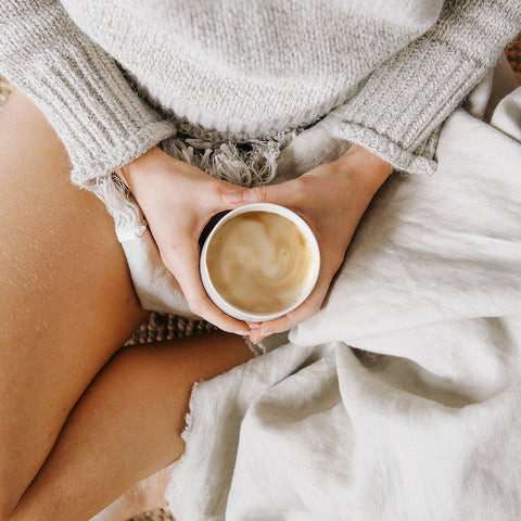 slow mindful mornings with a handmade cup