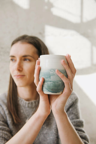 slow morning rituals with handmade pottery