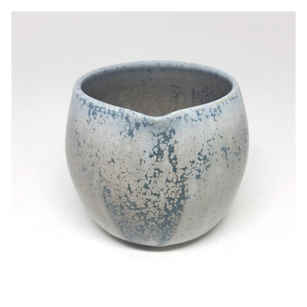handmade ceramic jug blue
