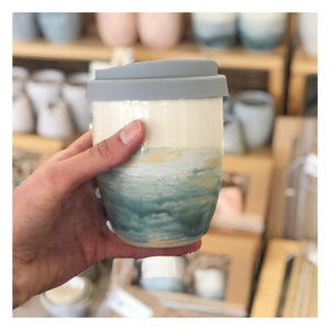 handmade ceramic keep cup