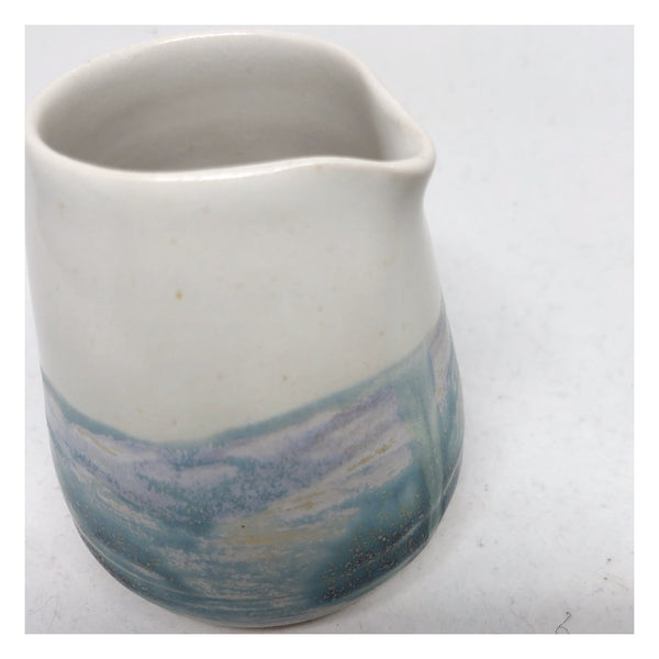 coastal inspired ceramic jug