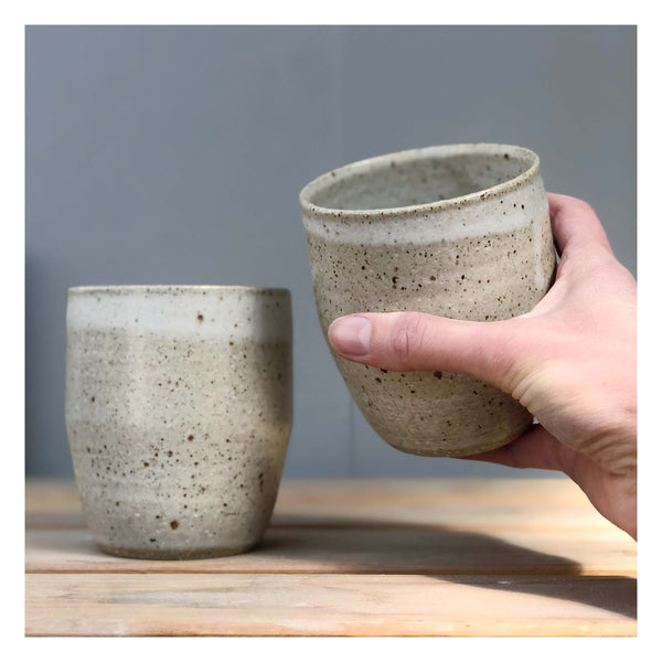 handmade mugs speckled perth