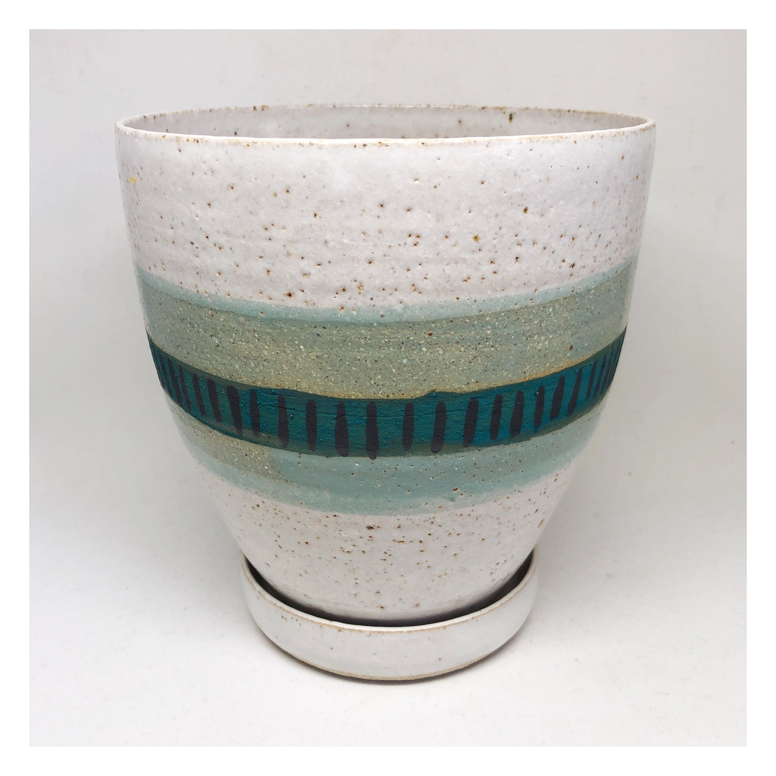 handmade planter perth teal and aqua