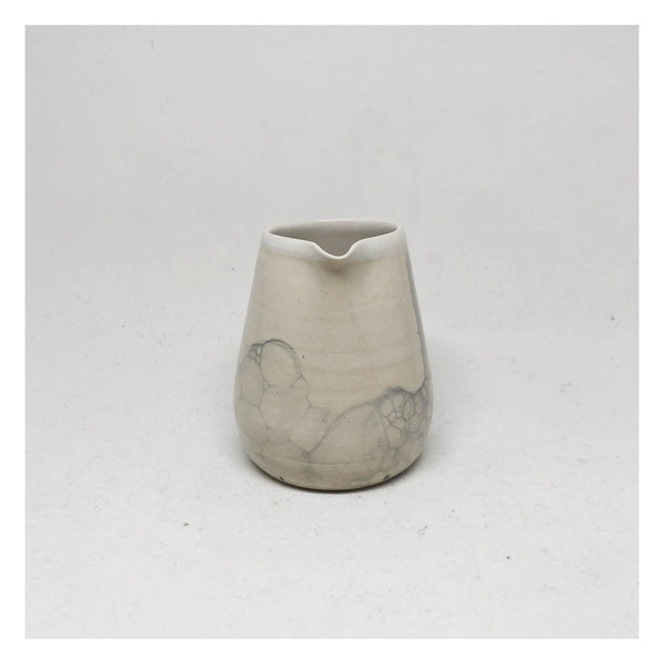 handmade ceramic jug bubble glaze