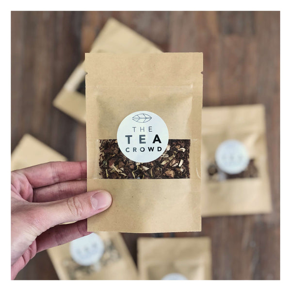 spa experience tea pouch