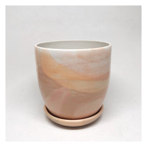 handmade plant pot blush perth
