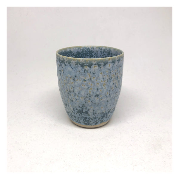 handmade ceramic tea cup perth blue