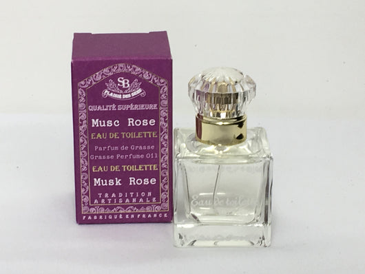 Eau de Toilette Rose Musk French Perfume - Petite France Australia