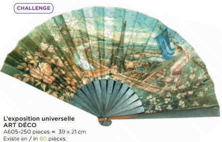 250 piece Adult Hand Cut Wooden Jigsaw Puzzle - L'Exposition Universelle - Petite France Australia