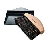 Andree Jardin Table Crumb Brush and Dustpan Gift Set Mr & Mrs Clynk in Black - Petite France Australia