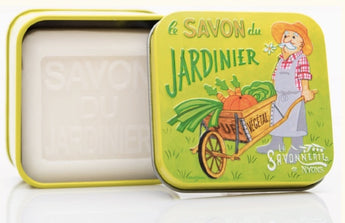 Gardener's soap in Tin - Petite France Australia