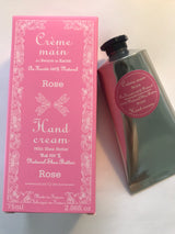 French Hand Cream 75 ml Rose - Petite France Australia