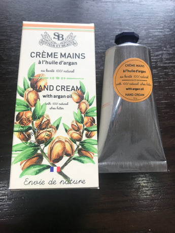 French Hand Cream 75 ml Argan Oil - Petite France Australia