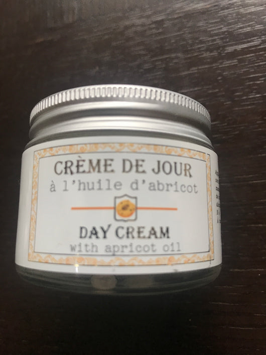 French Day Face Cream with Apricot Oil