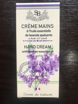 French Hand Cream 75 ml Lavender Essential Oil