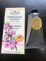 Provençal Hand Cream 75 ml with Apricot Oil - Petite France Australia