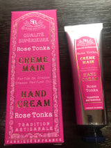 French Hand Cream 30 ml Rose Tonka - Petite France Australia