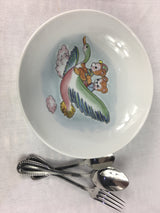 Children, Baby Table Coffret, Porcelain bowl and Cutlery - Petite France Australia