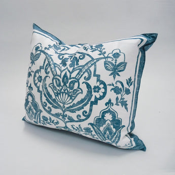 Saint Tropez Blue Cushion - Petite France Australia