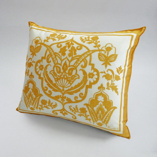 Saint Tropez Yellow Cushion - Petite France Australia