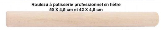Professional Wooden Rolling Pin - Petite France Australia