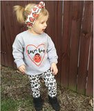 Girls Love Bug Outfit