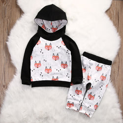 Baby Fox Hooded Outfit