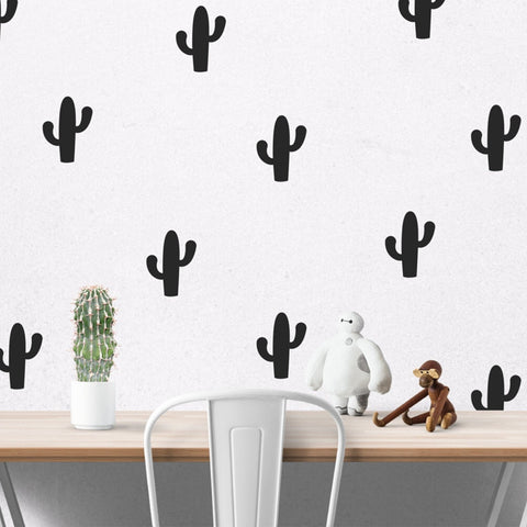Little Cactus Wall Sticker