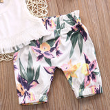 Baby Girl 3pcs Floral