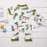 Baby Girl Deer 2 pcs Romper